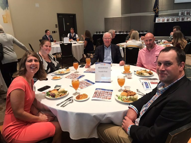 Youth First Table at 20 Under 40